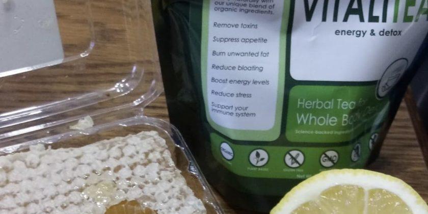 HB Naturals VitaliTea Review Matcha Superfood Infused Green Tea