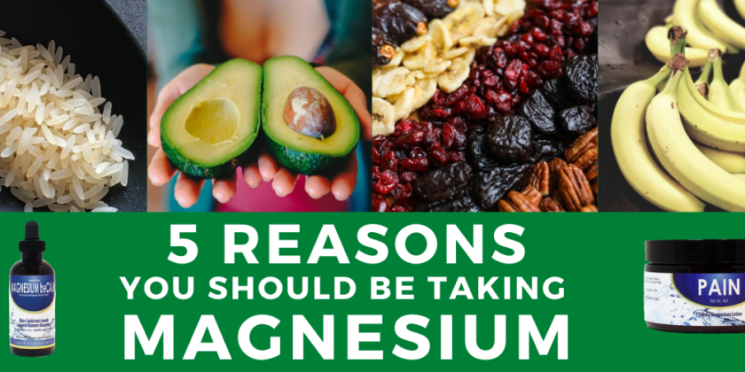 5 Reasons You Should be Taking Magnesium