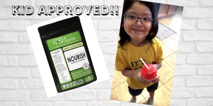 Nourish with HB Naturals KID APPROVED