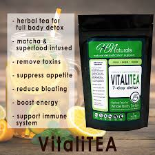 Don't Ignore Organic Everyday Detox Tea Benefits Using HB Naturals VitaliTea
