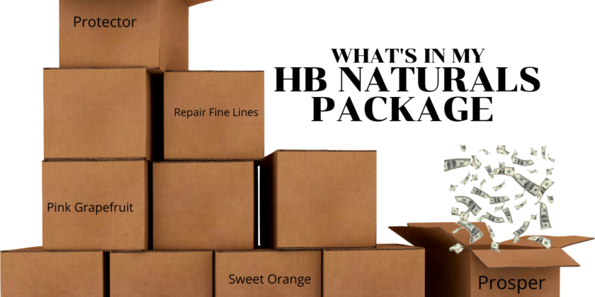 What's in My HB Natural Package?